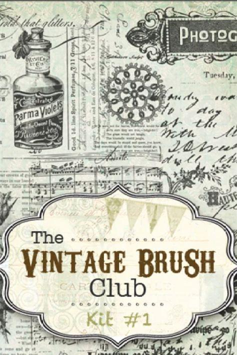 40 Vintage Brushes #1