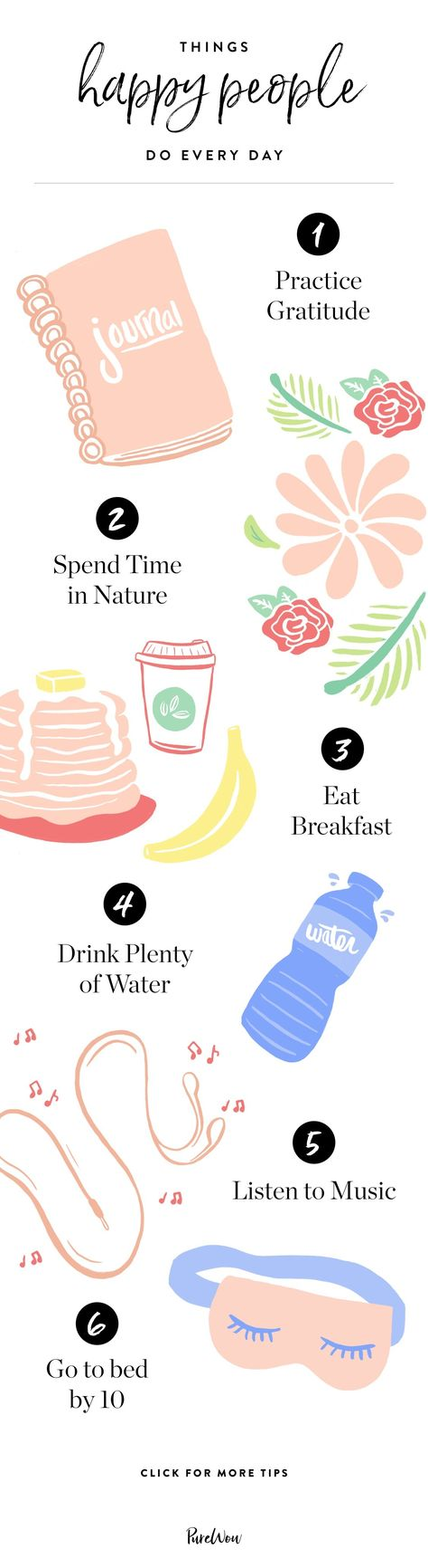 8 Things Happy People Do Every Day