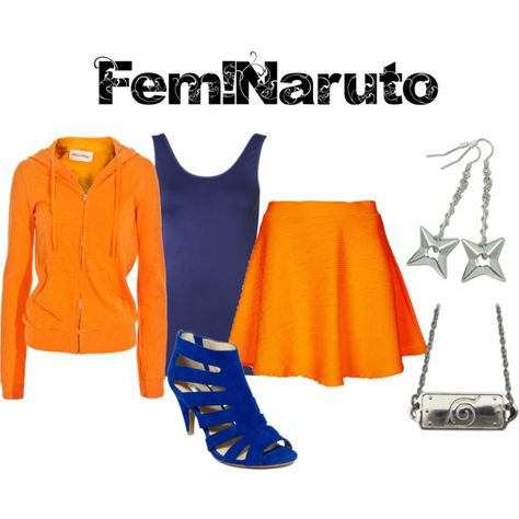 """Fem!Naruto from Naruto"" by animeinspirations on Polyvore"