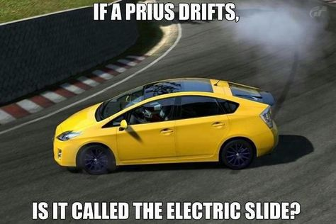 Toyota Prius Does The Electric Slide Funny Car Memes Car Memes