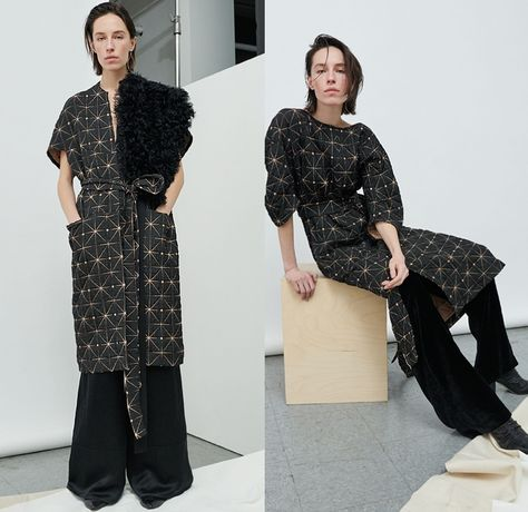 Zero + Maria Cornejo Fall Winter Womens Looks