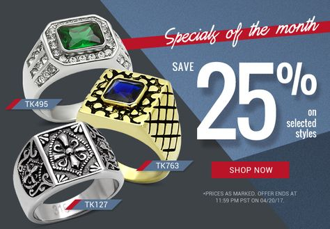 monthlyspecials [Monthly Specials] Save 25% on...