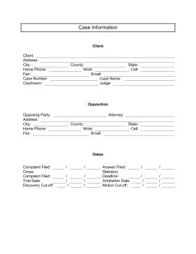 pleading form template