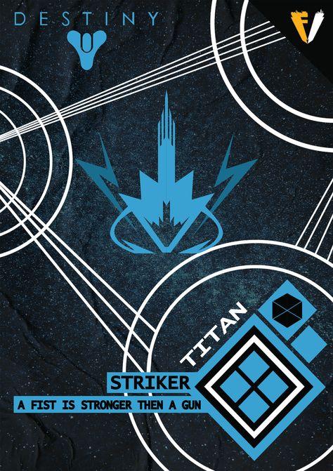 Destiny Titan Striker Concept Art