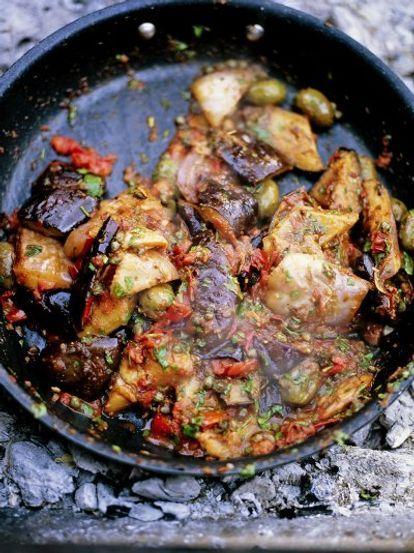 Incredible Sicilian Aubergine Stew Caponata