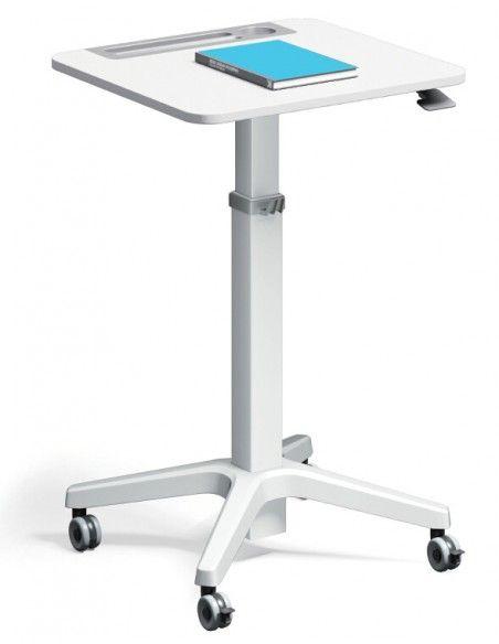 Leo Minimalist Mobile Height Adjustable Table Adjustable Height