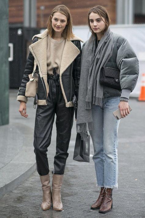 Street fashion:trendy jesień zima z New York Fashion Week