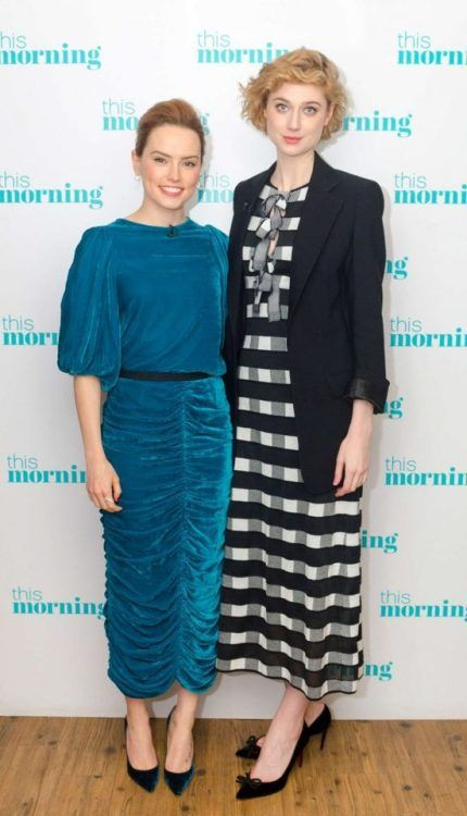 Daisy Ridley And Elizabeth Debicki This Morning Tv Show In Elizabeth Debicki Daisy Ridley Morning Tv Shows
