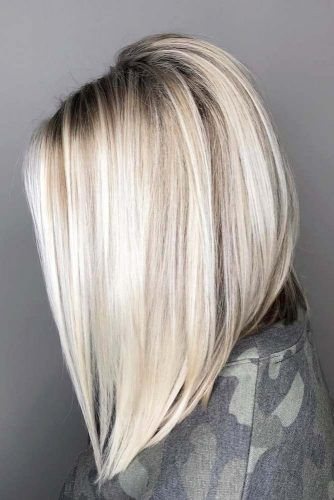 18 Medium Length Hairstyles For Thick Hair Thick Hair Styles Long Bob Blonde Medium Length Hair Styles