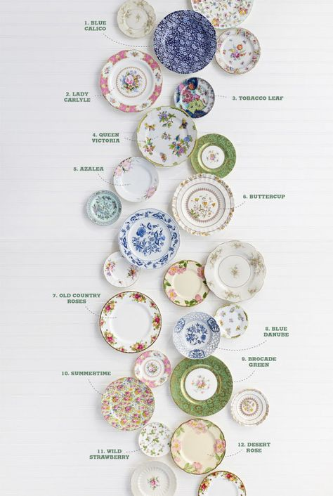 From feminine chintz to fanciful English roses, here's the dish on some of the most popular vintage china patterns to ever grace American tables.