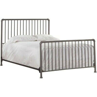 Queen Bed Metal Bedframe, Queen Metal Bed Headboard Footboard