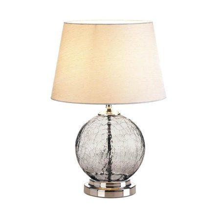 Table Lamps For Bedroom Gray Cracked Glass Living Room Light