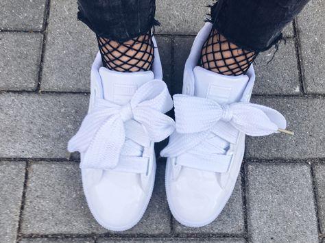 puma basketball heart shoes