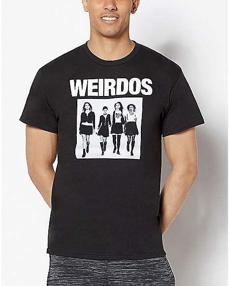 the Weirdos t shirt
