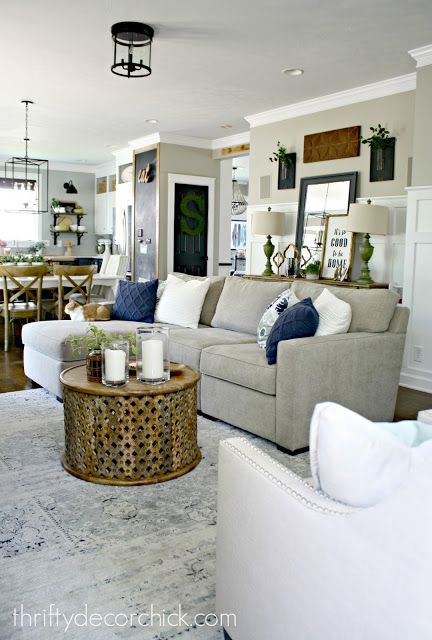Mini Family Room Makeover Complete In 2020 Family Room Makeover