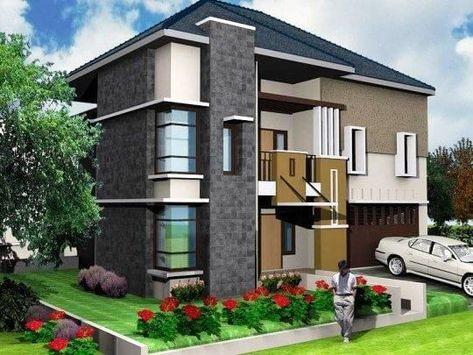 ツ 75+ model desain rumah minimalis 2 lantai sederhana