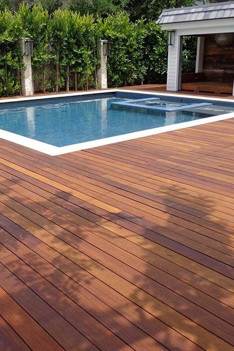 Trex Pool Deck Ipe Wood Deck Wooden Pool Deck Wood Pool Deck