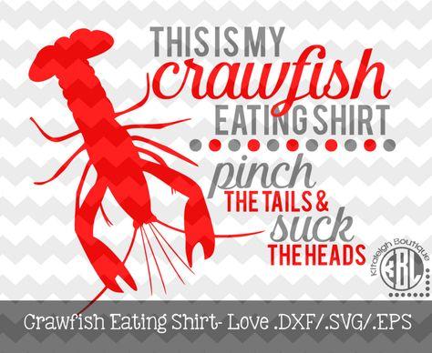 Crawfish Pinch the Tail Suck the Head Crayfish Louisiana Saying White Mug