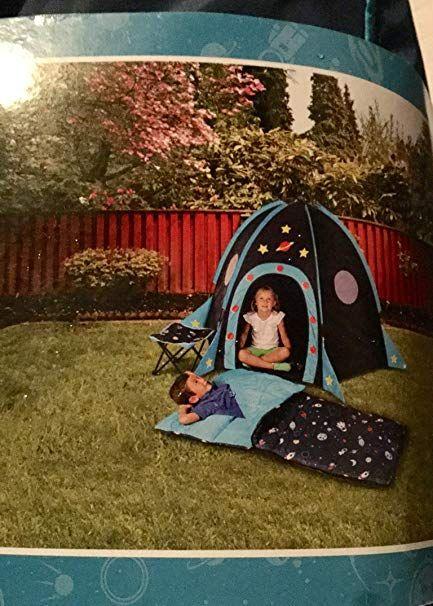 Hkd International Rocket Tent Kids 4 Piece Adventure Combo With