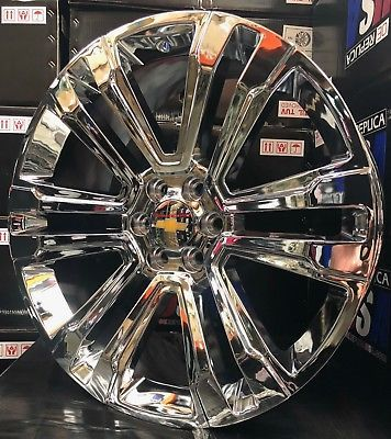 Advertisement Ebay 26 Chevy Silverado Tahoe Chrome Wheels Gmc
