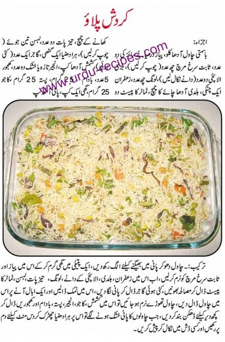 Sweet Rice Recipes In Urdu Pakistani Chicken