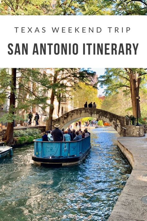 San Antonio Itinerary: How to Spend a Weekend in San Antonio Texas Weekend Getaways In The South, Hotel Weekend, Weekend Trips, Weekend Weather, San Antonio Hotels, San Antonio Vacation, Jw Marriott San Antonio, San Antonio Riverwalk, Texas Travel