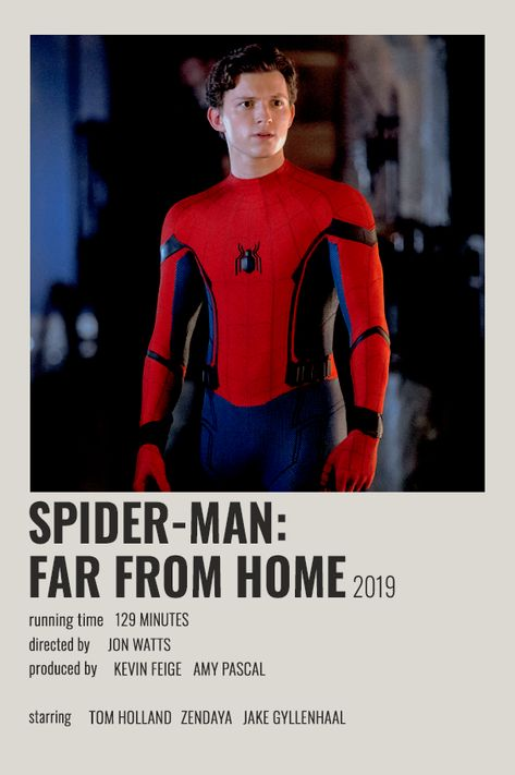 SPIDER-MAN: FAR FROM HOME POLAROID POSTER