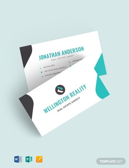 Agency Business Card Template Word Doc Apple Mac Pages Google Docs Publisher Agency Business Cards Business Card Template Word Word Doc