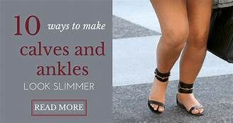 Ankles thick women with 12 Causes