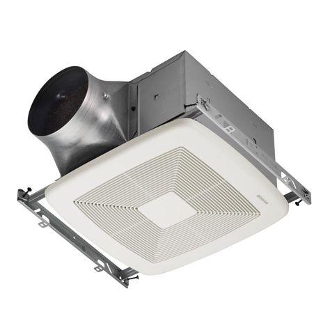 Broan Ultra Green Zb Series 110 Cfm Multi Speed Ceiling Bathroom
