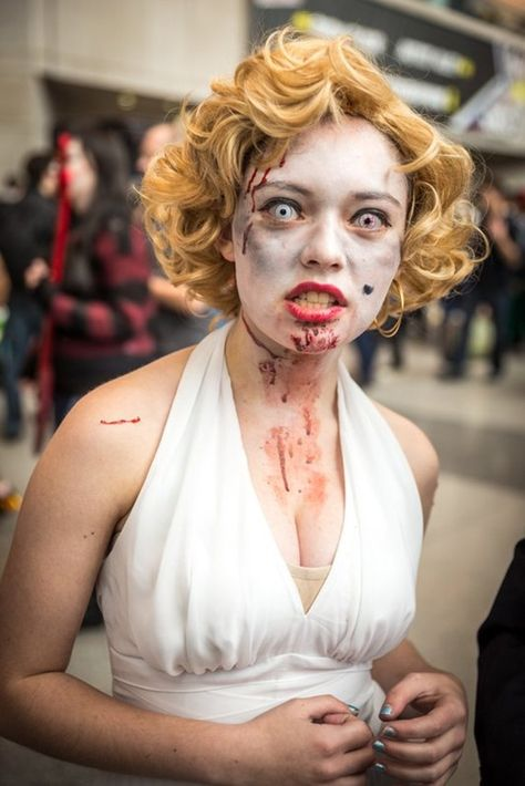 Best cosplay Comic Con New York 2014 - Zombie Marilyn Monroe