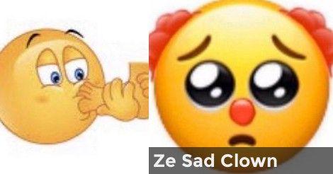 Which Cursed Emoji Are You Im Sorry In 2020 Emoji Clown Animal Crossing