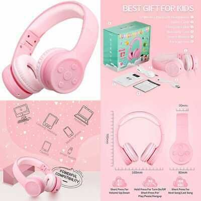 Ad Ebay Link Kids Bluetooth Headphones Safe Volume Limited 85db 15 Hours Play Time Foldable S Bluetooth Headphones Headphones Consumer Electronics