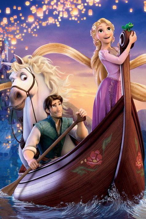 Options: Rapunzel, Flynn Rider, Mother Gothel, Stabbington Brother, Max the horse Image Source: Everett Col...
