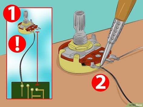 Cablear Un Potenciómetro Electricidad Y Electronica Esquemas Electrónicos Y Diagrama De Circuito Eléctrico