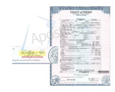 County of Ventura Certificate of Registry of Marriage State of - copy alameda county records birth certificate