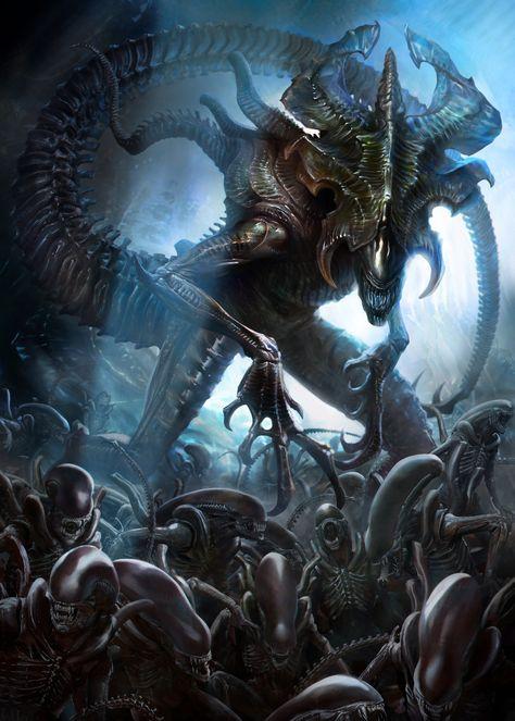 Alien Xenomorph Queen