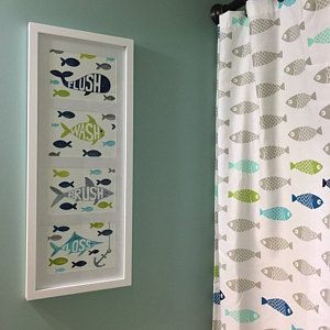 Fish Bathroom Art Fish Art Prints Target Fish Shower Curtain