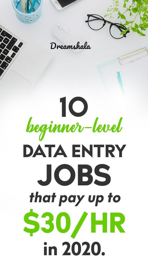10 Best Data Entry Jobs For Everyone To Work At Home In 2019 In