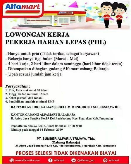 Info Lowongan Pekerjaan Tangerang Di 2021 Kerja Melepaskan Kota Tangerang