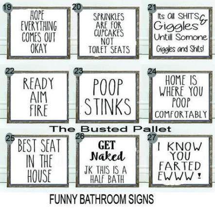 59 Ideas For Bath Room Diy Signs Funny Funny Diy Bath Funny