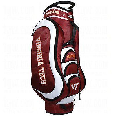 39ee3ef6953bc7 NEW Team Golf NCAA Virginia Tech Victory Cart Bag