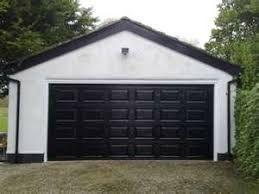 Image Result For White House Black Garage Door Black Garage Doors Garage Doors Outside House Colors
