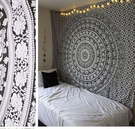 37 Ideas Bedroom For Small Rooms Teens Tumblr Black And White
