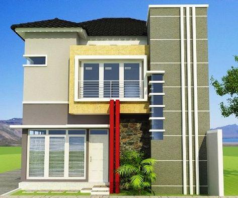 70+ desain rumah type 45 minimalis 1 lantai & 2 lantai
