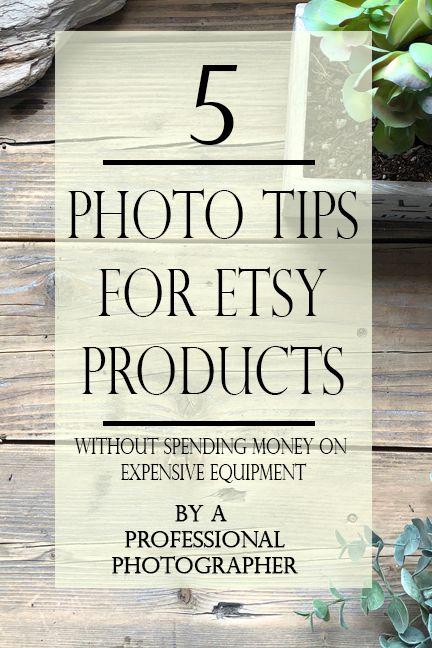 Tips to take better pictures for Etsy - Montana Vintage Market
