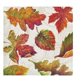 Fall Leaves Placemats 12 Ct  Thanksgiving Placemats 12 x 15