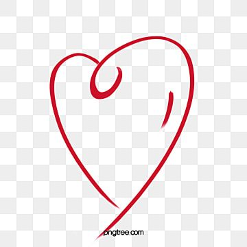 Heart Stroke Heart Outline Heart Clipart Brief Strokes Line Png Transparent Clipart Image And Psd File For Free Download Heart Outline Png Heart Outline Clipart Heart Outline