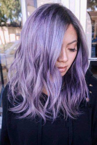 36 Light Purple Hair Tones That Will Make You Want To Dye Your Hair Light Purple Hair Purple Hair Dyed Hair Purple
