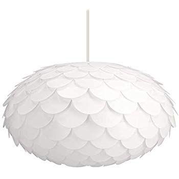 Ikea Solleftea Pendant Lamp Shade, White, Round Shape